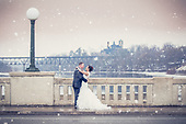 Brittany & Jakub's pretty winter wedding at Cambridge Mill