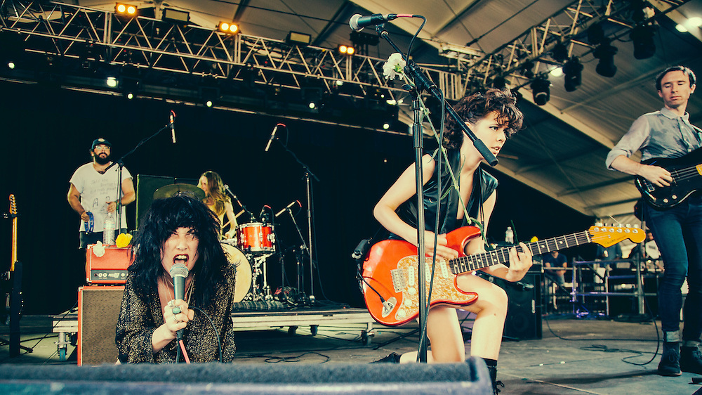 Those Darlins perform at The Bonnaroo Music and Arts Festival - 6/15/14