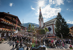 23.08.2015, Alpbach, AUT, Forum Alpbach 2015, Tiroltag, feierliche Eröffnung, im Bild Die Eröffnungszeremonie // opening Ceremony during the opening Ceremony of 2015 European Forum Alpbach in Alpbach, Austria on 2015/08/23. EXPA Pictures © 2015, PhotoCredit: EXPA/ Johann Groder