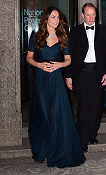 Kate, Duchess of Cambridge attends major fundraiser to raise money to support the National Portrait Gallery and its exhibitions and displays at National Portrait Gallery, London, United Kingdom. Tuesday, 11th February 2014. Picture by Nils Jorgensen / i-Images