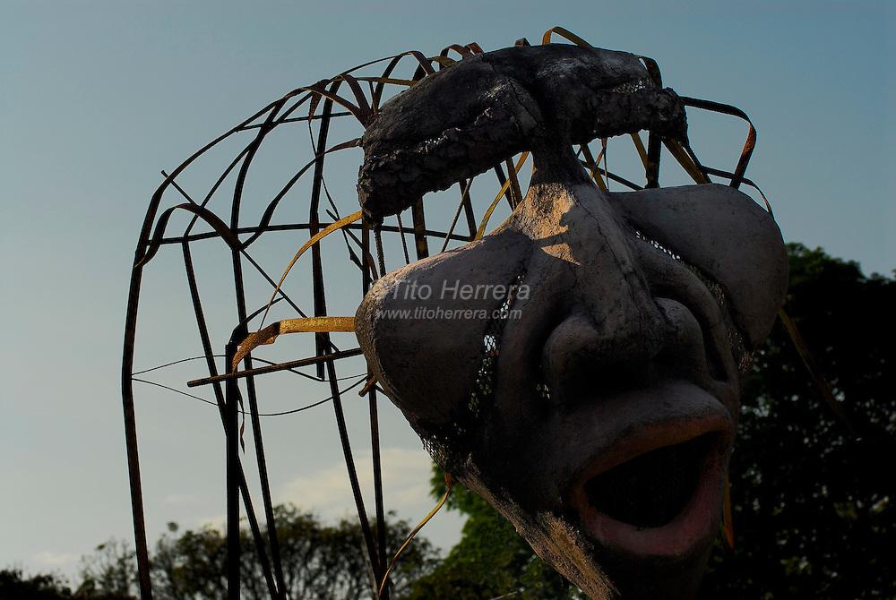 Art exhibition at El Parque Omar, Panama