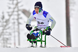 WESTEMAIER R. C, BRA, LW11.5 at the 2018 ParaNordic World Cup Vuokatti in Finland
