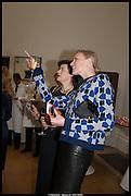 JASMINE GUINNESS; JADE PARFITT, Royal Academy of Arts Summer Exhibition 2014. Piccadilly. London. 4 June 2014.