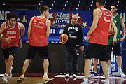 MILANO 12 MARZO 2011<br /> BASKET ALL STAR GAME<br /> ALLENAMENTO NAZIONALE ITALIANA<br /> NELLA FOTO CAPOBIANCO<br /> FOTO CIAMILLO CASTORIA
