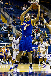 December 28, 2009; Berkeley, CA, USA;  UC Santa Barbara Gauchos forward Jaime Serna (0) shoots against the Furman Paladins  during the second half at the Haas Pavilion.  UC Santa Barbara defeated Furman 72-60.