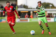 Forest Green Rovers Elliott Frear(11) runs forward during the Vanarama National League match between Forest Green Rovers and Barrow at the New Lawn, Forest Green, United Kingdom on 1 October 2016. Photo by Shane Healey.
