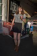 FRANCES MCCOY, Rachel Johnson book launch of Fresh Hell, Acklam Village Market, Acklam Rd. London W10.