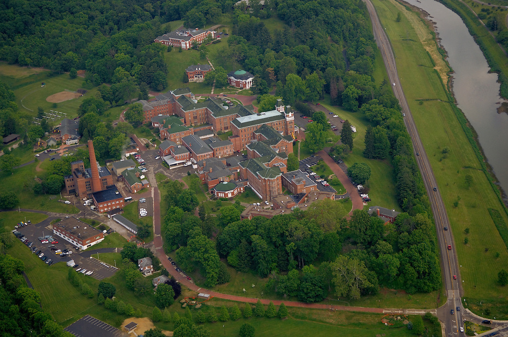 Aerial view of The Ridges. © Ohio University