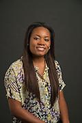 Teacher Blogger from Hilliard Elementary School 3rd grade Brandi Latimer poses for a photograph, August 21, 2013.