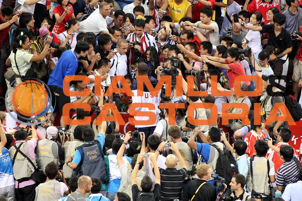 DESCRIZIONE : Beijing Pechino Olympic Games Olimpiadi 2008 Final Gold Medal 1-2 posto place Spain Usa<br />GIOCATORE : Kobe Bryant Vaness Bryant<br />SQUADRA : Usa<br />EVENTO : Olympic Games Olimpiadi 2008<br />GARA : Spagna Usa<br />DATA : 24/08/2008 <br />CATEGORIA : Ritratto<br />SPORT : Pallacanestro <br />AUTORE : Agenzia Ciamillo-Castoria/G.Ciamillo<br />Galleria : Beijing Pechino Olympic Games Olimpiadi 2008 <br />Fotonotizia : Beijing Pechino Olympic Games Olimpiadi 2008 Final Gold Medal 1-2 posto place Spain Usa<br />Predefinita :