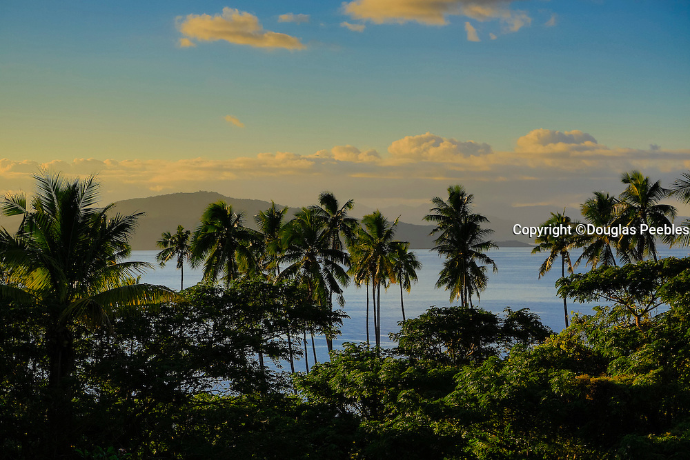 Sunset, Taveuni,  Fiji