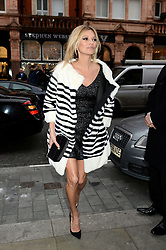 Kate Moss arrives at Bookmarc in Mayfair, London, to sign the cover of Playboy's 60th anniversary issue that she is pictured on the front of.<br /> Monday, 2nd December 2013. Picture by Ben Stevens / i-Images