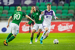 Aleks Pihler of NK Maribor during football match between NK Olimpija Ljubljana and NK Maribor in Round #25 of Prva Liga Telekom Slovenije 2017/18, on March 31, 2018 in SRC Stozice, Ljubljana, Slovenia. Photo by Ziga Zupan / Sportida