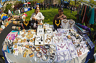 May 5, 2013 - Hempstead, New York, U.S. - Jewelry is a popular item vendors are selling at the 30th Annual Dutch Festival celebrating Hofsta University's Global Campus, with spotlight on Portugal and India.