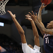 Ryan Boatright, UConn, shoots during the UConn Huskies Vs Tulsa Semi Final game at the American Athletic Conference Men's College Basketball Championships 2015 at the XL Center, Hartford, Connecticut, USA. 14th March 2015. Photo Tim Clayton