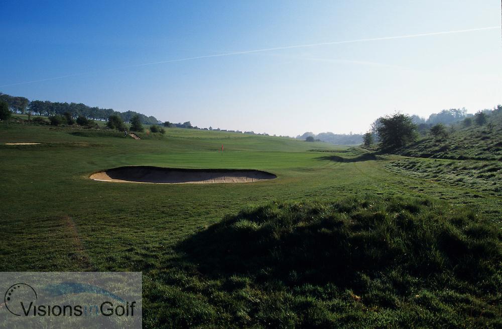 Royal Winchester GC, England, Uk, Photo Mark Newcombe<br /> <br /> Royal Winchester GC, 7th hole