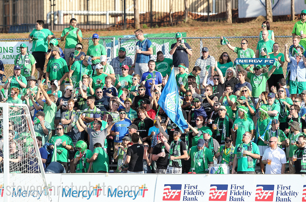 June 13, 2015: The OKC Energy FC plays the Tulsa Roughnecks FC in a USL game at Taft Stadium in Oklahoma City, Oklahoma.