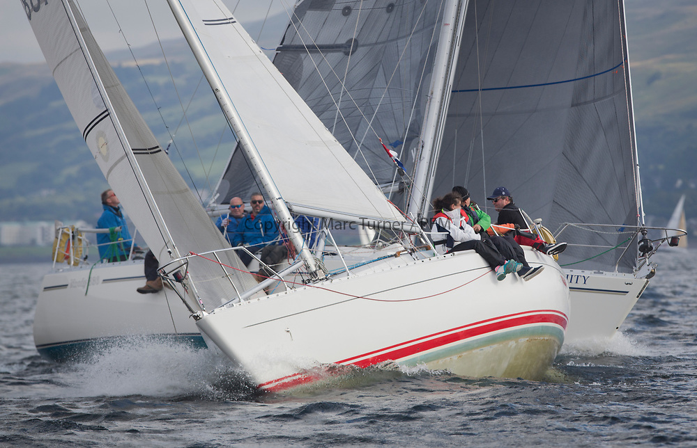 Largs Regatta Week 2017 <br /> <br /> Day 2, 1685C, Rajah, Roy Summers<br /> <br /> Picture Marc Turner