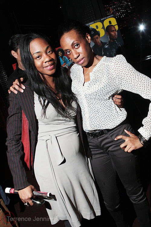 7 March 2011- New York, NY- l to r: Nicole Newsum and Michell Pascall at the Power of Urban Presentation and Reception hosted by Magic Johnson and Yucaipa and held at the Empire Penthouse on March 7, 2011 in New York City. Photo Credit: Terrence Jennings/Photo Credit: Terrence Jennings for Uptown Magazine