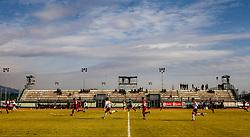 First League Telekom Slovenie Football match between Triglav Kranj vs Aluminij on the February 24. 2019, Kranj, Slovenia. Photo by Matic Ritonja / Sportida