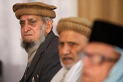 Community elders in a meeting