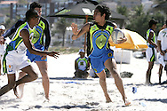 Camps Bay, GV of play during the Oasis SKW Camps Bay Beach Touch Rugby Tournament held on the 2 February 2008, Cape Town, South Africa...Image © Sportzpics