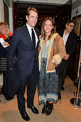 BEN & MARY CLARE ELLIOT at the fourth annual Fayre of St James's charity Christmas concert hosted by the Quintessentially Foundation and The Crown Estate in partnership with Deutsche Asset & Wealth Management held at  St James's Church, 197 Piccadilly, London followed by a party at Quaglino's 16 Bury Street, London on 24th November 2015.