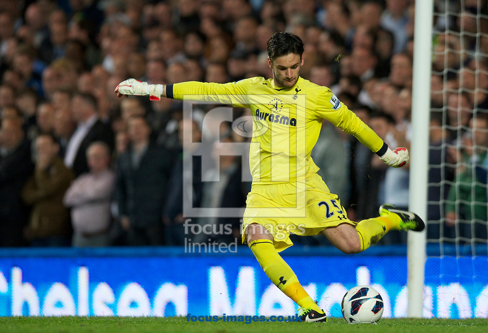 Picture by Alan Stanford/Focus Images Ltd +44 7915 056117.08/05/2013.Goalkeeper Hugo Lloris of Tottenham Hotspur during the Barclays Premier League match at Stamford Bridge, London..