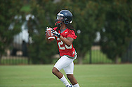 Ole Miss' Korvic Neat at football practice in Oxford, Miss. on Saturday, August 3, 2013.