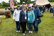 Jackie, James, Terry, John, Maryann, and Michael Caulfield during the Caulfield/Mulryan family reunion at Ardenode Stud, County Kildare, Ireland on Sunday, June 23rd 2013. (Photo by Brian Garfinkel)