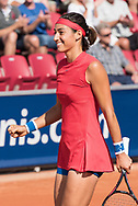 Caroline Garcia (France) at the 2017 WTA Ericsson Open in Båstad, Sweden, July 26, 2017. Photo Credit: Katja Boll/EVENTMEDIA.