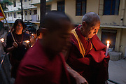 Manifestation for a free Tibet, Dharamsala, India.NOT FOR COMMERCIAL USE UNLESS PRIOR AGREED WITH PHOTOGRAPHER. (Contact Christina Sjogren at email address : cs@christinasjogren.com )