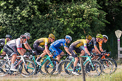 Peloton with Mike Teunissen (NED) of Team Jumbo-Visma (NED,WT,Bianchi) during 2019 Dutch National Road Race Championships Men Elite, Ede, The Netherlands, 30 June 2019, Photo by Pim Nijland / PelotonPhotos.com | All photos usage must carry mandatory copyright credit (Peloton Photos | Pim Nijland)