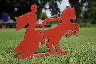 Championship distance tee marker at The Wanderers Golf Club, Gauteng, Johannesburg, South Africa.  12/01/2016. Picture: Golffile | David Lloyd<br /> <br /> All photos usage must carry mandatory copyright credit (© Golffile | David Lloyd)