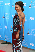 Eva Pigford arriving at The 39th Annual NAACP IMAGE AWARDS held at the Shrine Auditorium in Los Angeles, Calaifornia on February 14, 2008