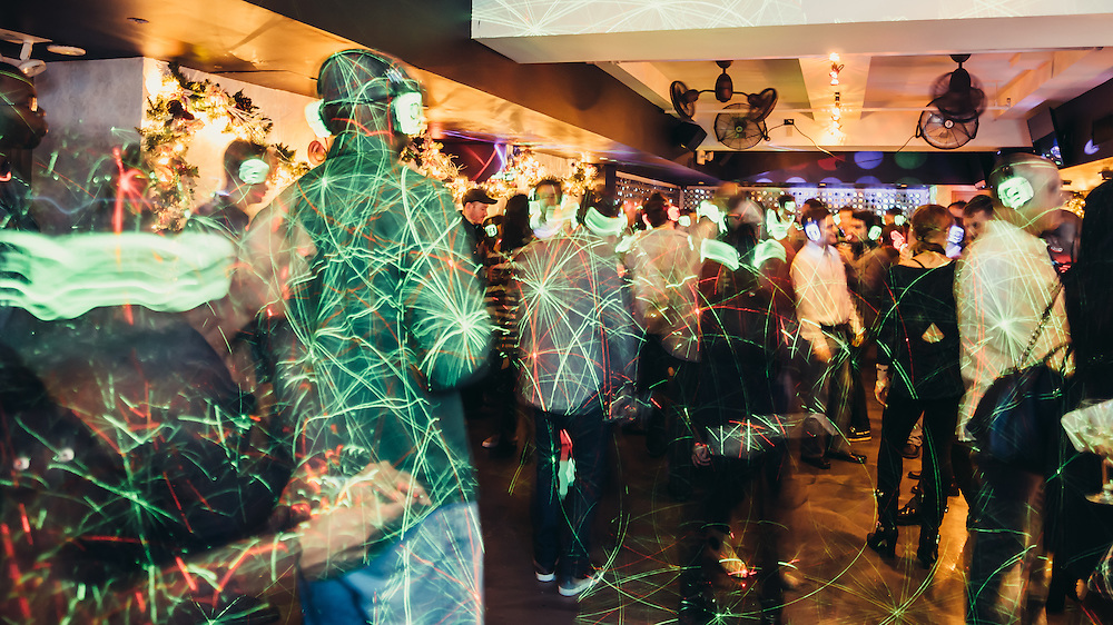 Photographs of Quiet Clubbing Night at Croton Tavern.