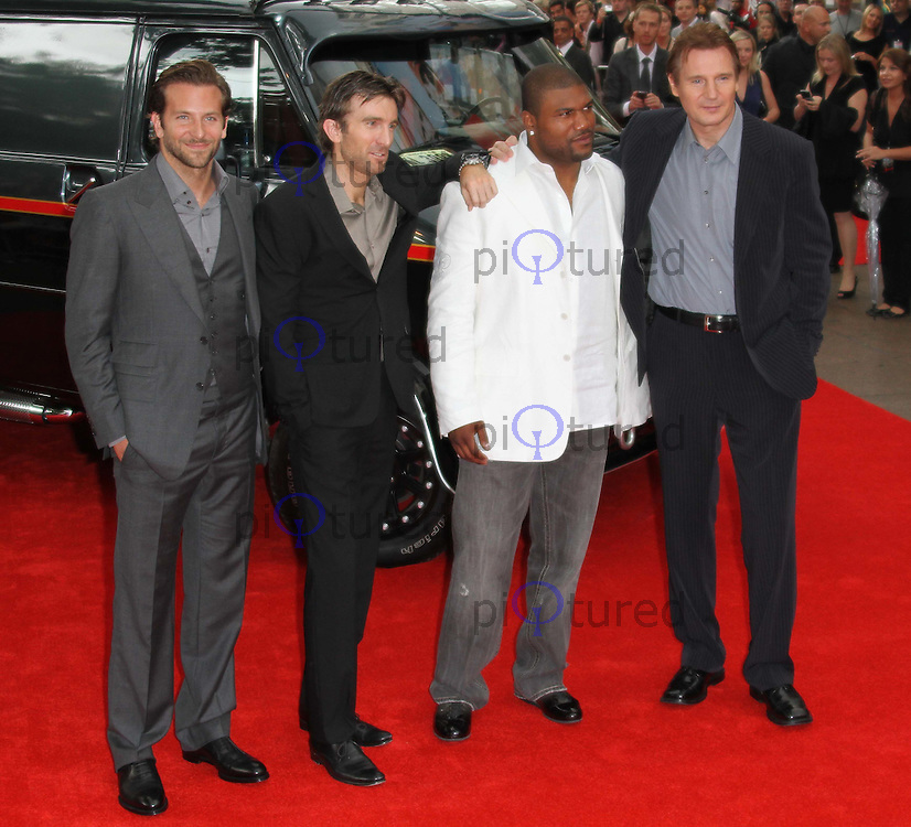 Bradley Cooper Sharlto Copey Quinton Rampage Jackson Liam Neeson The A Team Uk Premiere Celebrity And Red Carpet Pictures
