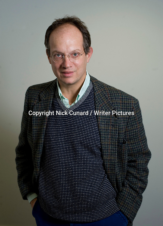Don Guttenplan, London-based American writer and commentator, pictured at the Free Word Centre, London, UK, October 25, 2010.<br /> <br /> Nick Cunard / Writer Pictures<br /> Contact +44 (0)20 822 41564<br /> info@writerpictures.com<br /> www.writerpictures.com