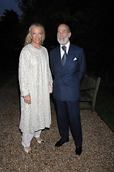 PRINCE & PRINCESS MICHAEL OF KENT at the annual Cartier Chelsea Flower Show dinner held at the Chelsea Physic Garden, London on 21st May 2007.<br /><br />NON EXCLUSIVE - WORLD RIGHTS
