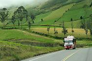 Alberto Carrera, Road Scene, Alausí, Andes, Ecuador, South America, America