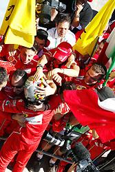 November 12, 2017 - Sao Paulo, Brazil - Motorsports: FIA Formula One World Championship 2017, Grand Prix of Brazil, .#5 Sebastian Vettel (GER, Scuderia Ferrari) (Credit Image: © Hoch Zwei via ZUMA Wire)