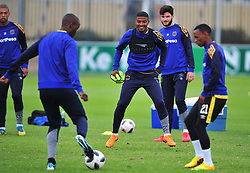Cape Town--180329 Cape Town City midfielder Lyle Lakay at training preparing for heir Nedbank Cup game against Sundowns on sunday  .Photographer;Phando Jikelo/African News Agency/ANA