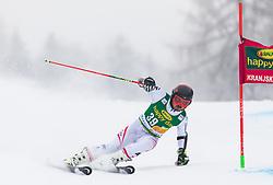 Marcel Mathis of Austria during 1st run of Men's Giant Slalom race of FIS Alpine Ski World Cup 57th Vitranc Cup 2018, on 3.3.2018 in Podkoren, Kranjska gora, Slovenia. Photo by Urban Meglič / Sportida