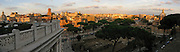 Panorama of Rome near Colosseum, Rome, Italy