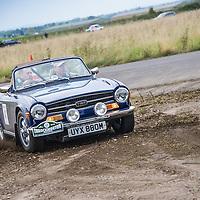 Car 43 Stephen Sly Andy Hamer Triumph TR6
