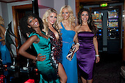 NATASHA NCUBE; ALICE TAYLOR; LIZ FULLER; CHARLOTTE CAMPBELL, Miss Great Britain - anniversary event. The Red Room, Les Ambassadeurs Club, 5 Hamilton Place, London W1 18 August 2010. -DO NOT ARCHIVE-© Copyright Photograph by Dafydd Jones. 248 Clapham Rd. London SW9 0PZ. Tel 0207 820 0771. www.dafjones.com.