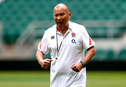 England head coach Eddie Jones leads a training session at Twickenham ahead of the upcoming tour of Argentina - Mandatory by-line: Robbie Stephenson/JMP - 02/06/2017 - RUGBY - Twickenham - London, England - England Rugby Training