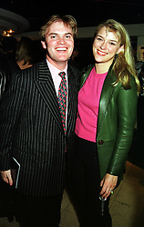 LORD & LADY DALMENY  at a party in London on 13th October 1999.MXO 39
