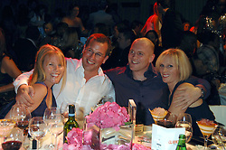 Left to right, AUTUMN KELLY, PETER PHILLIPS, MIKE TINDALL and ZARA PHILLIPS at the Glamour magazine Women of the Year Awards held in the Berkeley Square Gardens, London W1 on 5th June 2007.<br /><br />NON EXCLUSIVE - WORLD RIGHTS