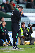 Yeovil - Saturday December 12th, 2009:  Norwich Manager Paul Lambert during the Coca Cola League One match at Huish Park, Yeovil. (Pic by Paul Chesterton/Focus Images)